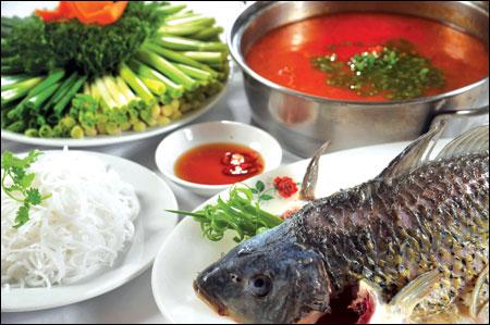 Kết quả hình ảnh cho cá rô phi nấu riêu